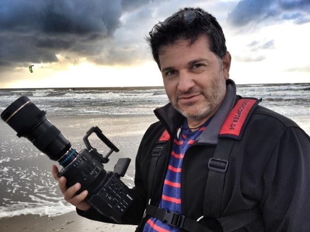 Nikolaj Georgiew filmt mit Sony FS 700