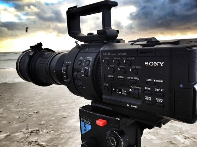 die nur Highspeed Kamera von Sony FS700